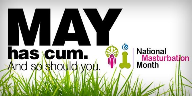 may is masturbation month